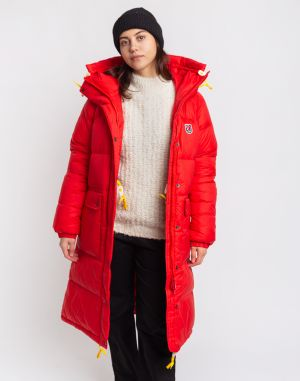 Fjällräven Expedition Long Down Parka W 334 True Red