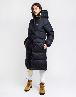 Fjällräven Expedition Long Down Parka W 550 Black