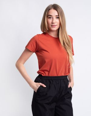 Colorful Standard Women Light Organic Tee Dark Amber