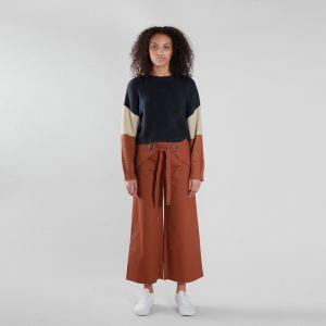 e55a4993003c Modrý sveter – Canyan Knit