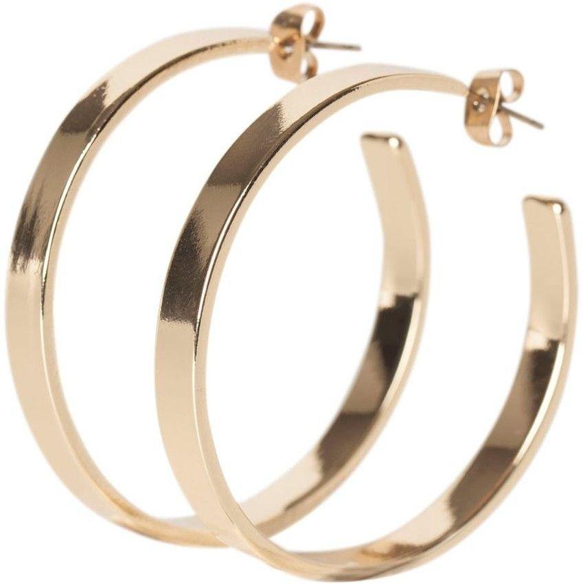 1c83318a3 Zlaté kruhové náušnice Jodi značky Pieces - Lovely.sk