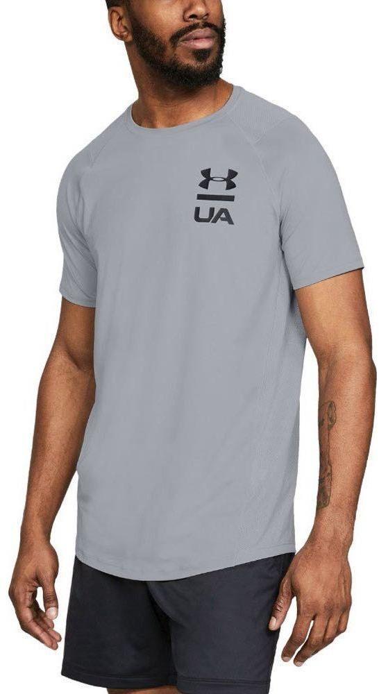Šedé športové tričko Logo Graphic značky UNDER ARMOUR - Lovely.sk bc1657b6cc4