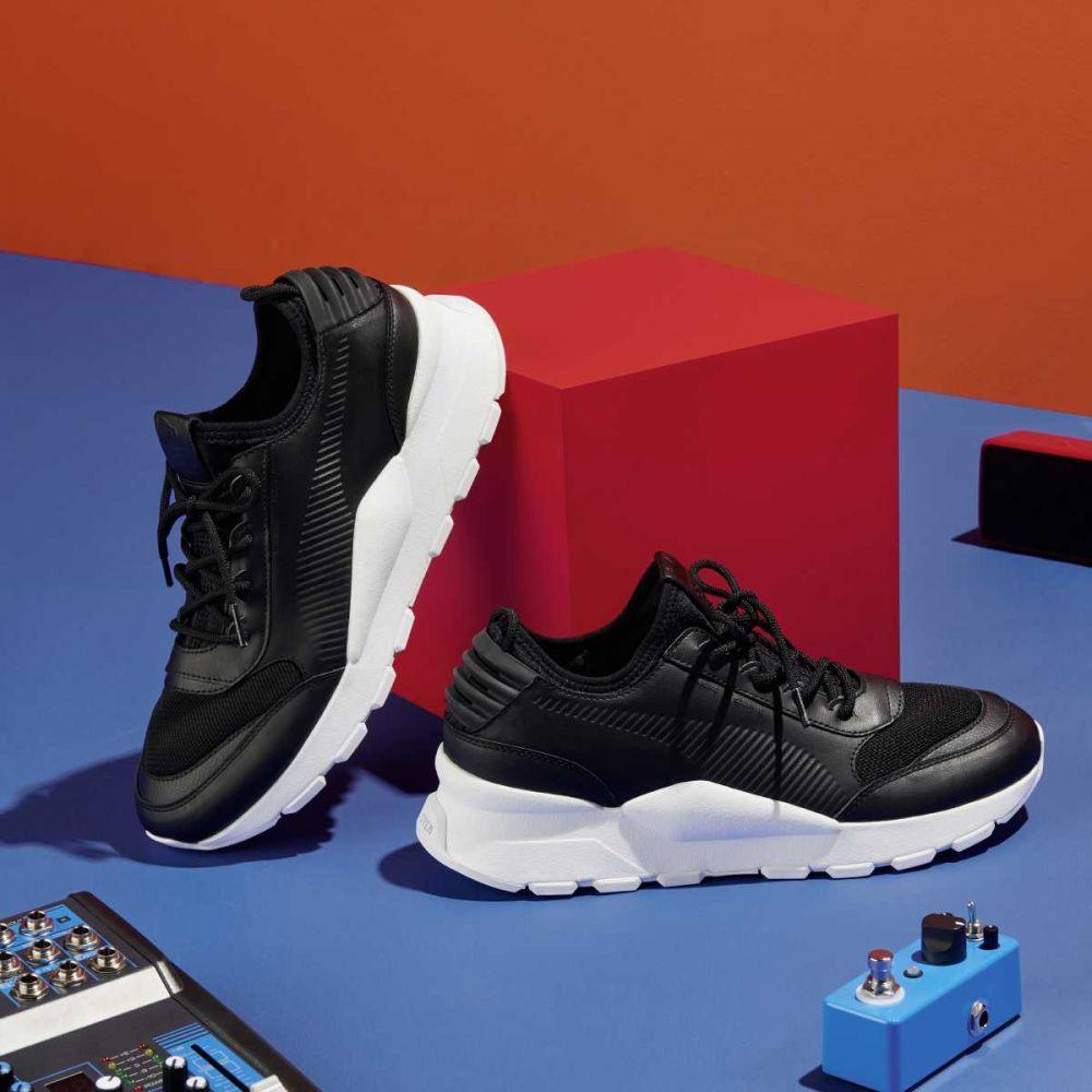 e3a51d69fdec Čierno-biele sneakers RS-0 SOUND – 42