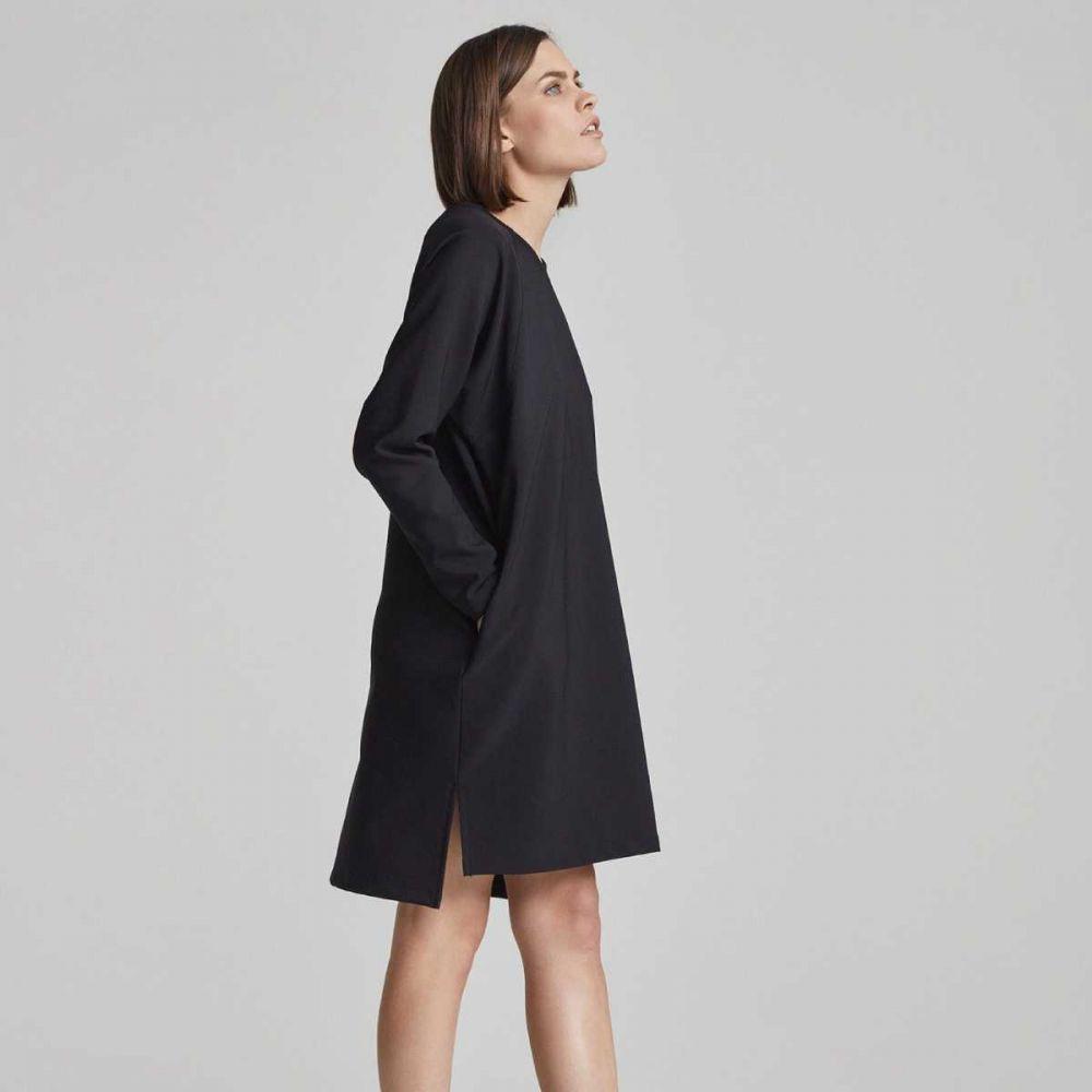 Čierne mikinové šaty Current značky Makia - Lovely.sk c38fcf24c1e