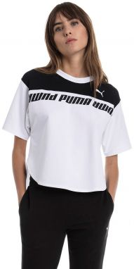 Biely crop top Modern Sports Sweat Tee
