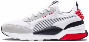 RS-0 Winter INJ TOYS: Puma White-High Risk Red