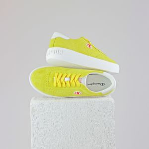 Era MicroPunched Suede: yellow