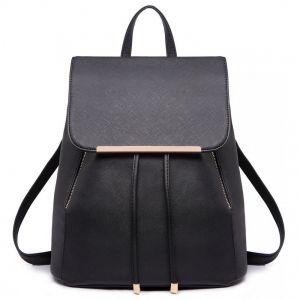 354ba8a422 Čierny elegantný batoh