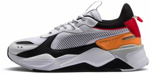 RS-X TRACKS: Puma White-Puma Black