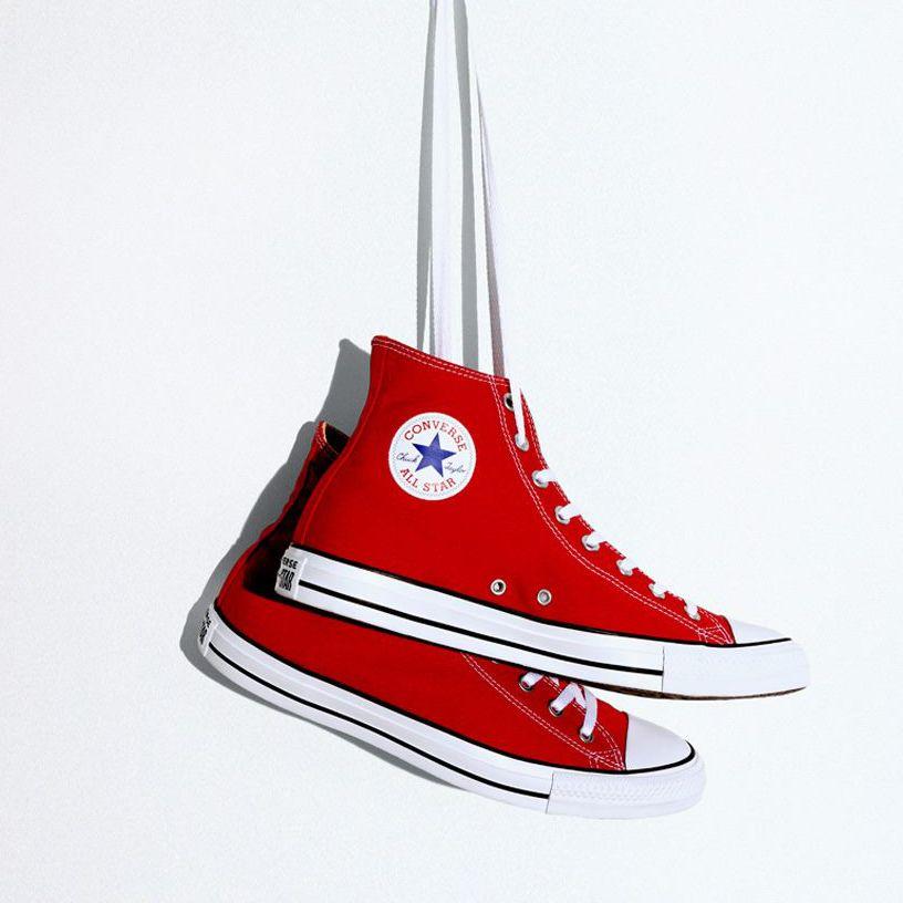 f97b1ac11e2e6 Chuck Taylor All Star Hi: Red značky Converse - Lovely.sk