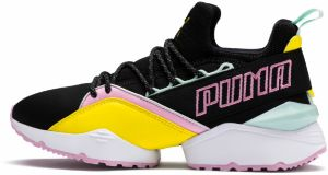 Muse Maia TZ Wn's: PUMA Black – Blazing Yellow