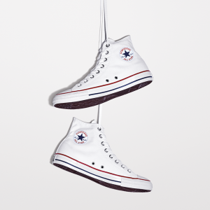 Chuck Taylor All Star Hi: Optical White