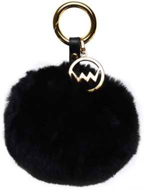 VUCH Trendy Black Pom Gold
