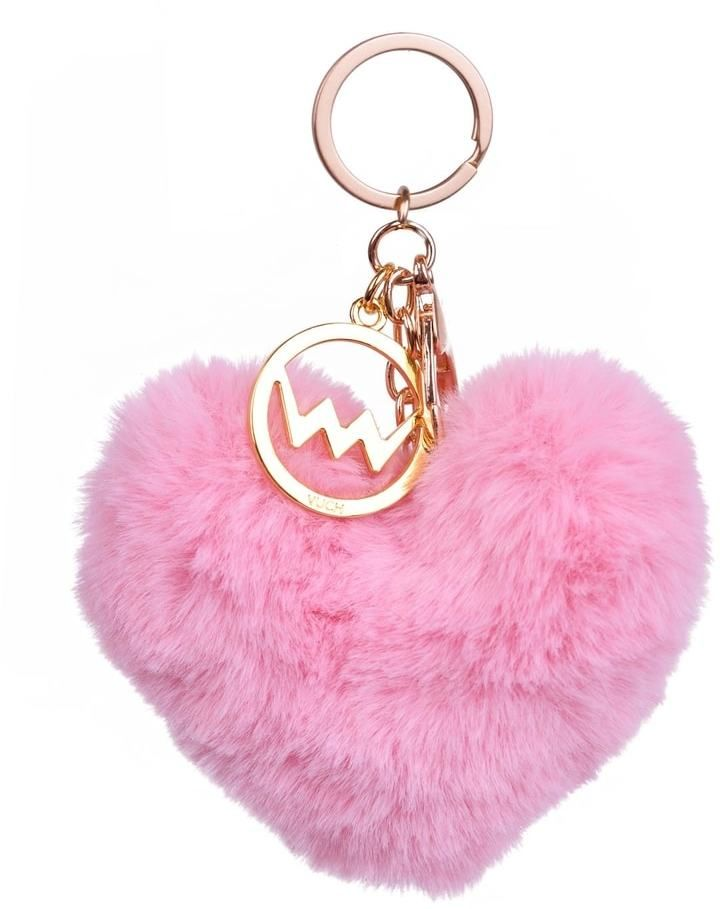 VUCH Pink heart pom