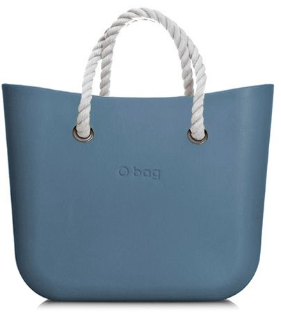 Obag MINI AIR BLUE S KRÁTKYM POVRAZOM BIELYM značky O bag - Lovely.sk 82713a59162