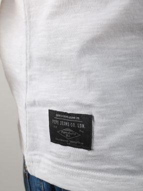 Tričko Pepe Jeans BELLSIZE 2 Biela značky Pepe Jeans - Lovely.sk 01f33e9eca
