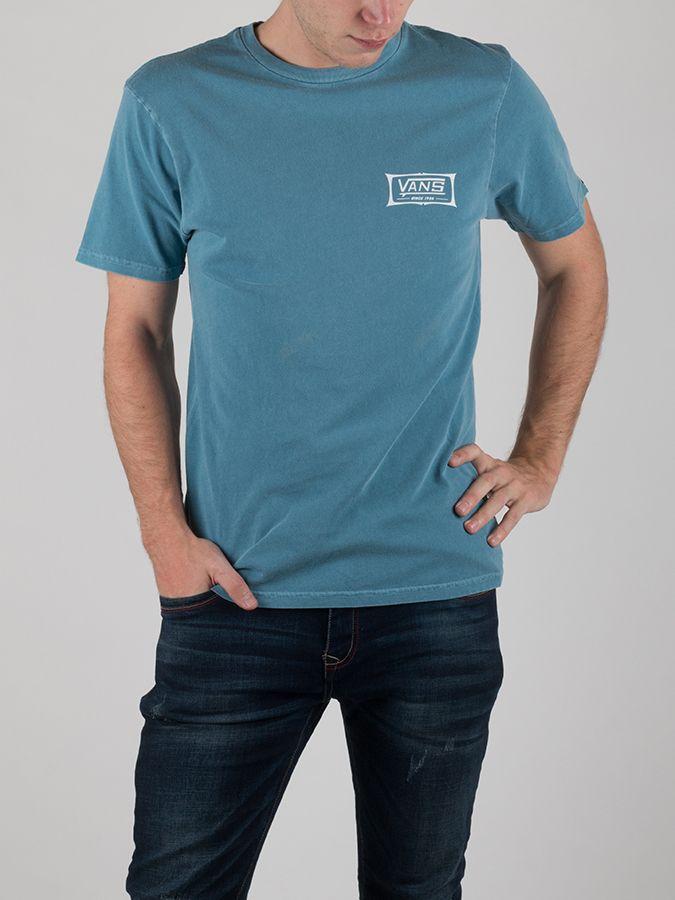 Tričko Vans Mn Original Shaper Copen Blue Modrá značky Vans - Lovely.sk 94daa9be00f