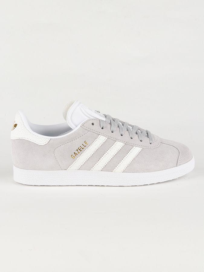 Topánky adidas Originals Gazelle W Šedá značky adidas Originals ... e1bd083b753