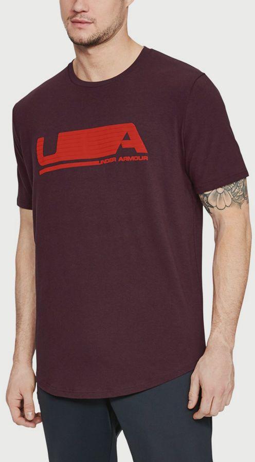 Tričko Under Armour Versa Tee Červená značky UNDER ARMOUR - Lovely.sk 2ba00e32a3b