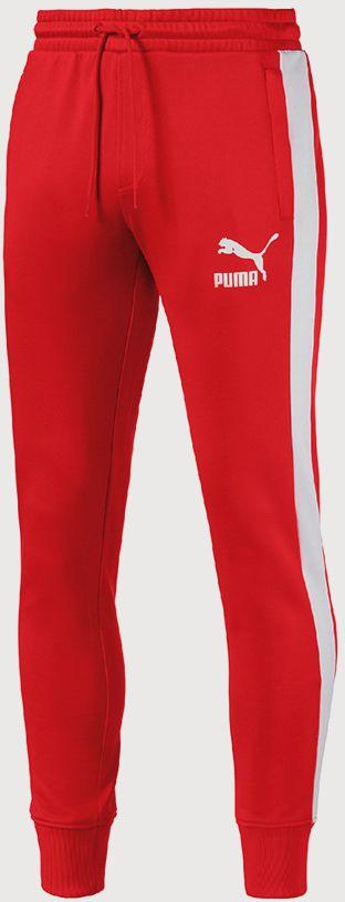 Tepláky Puma Archive T7 Track Pants Červená značky Puma - Lovely.sk 76a5fa0d87e