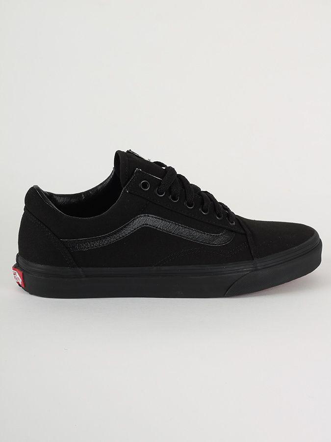 Topánky Vans Ua Old Skool Black Black Čierna značky Vans - Lovely.sk 385fcaaeb1a