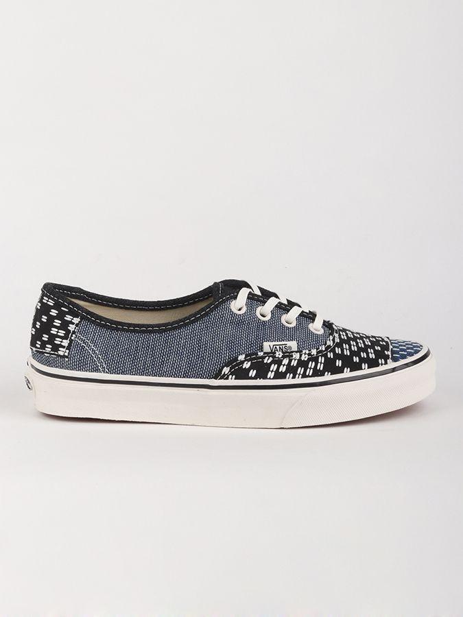 Topánky Vans Ua Authentic (Patchwork) Šedá značky Vans - Lovely.sk bbb76e7120a