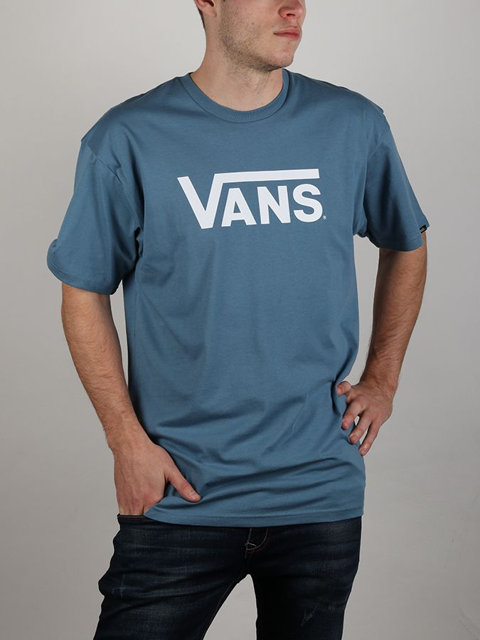 Tričko Vans Mn Classic Copen Blue White Modrá značky Vans - Lovely.sk e56c1cb4de6