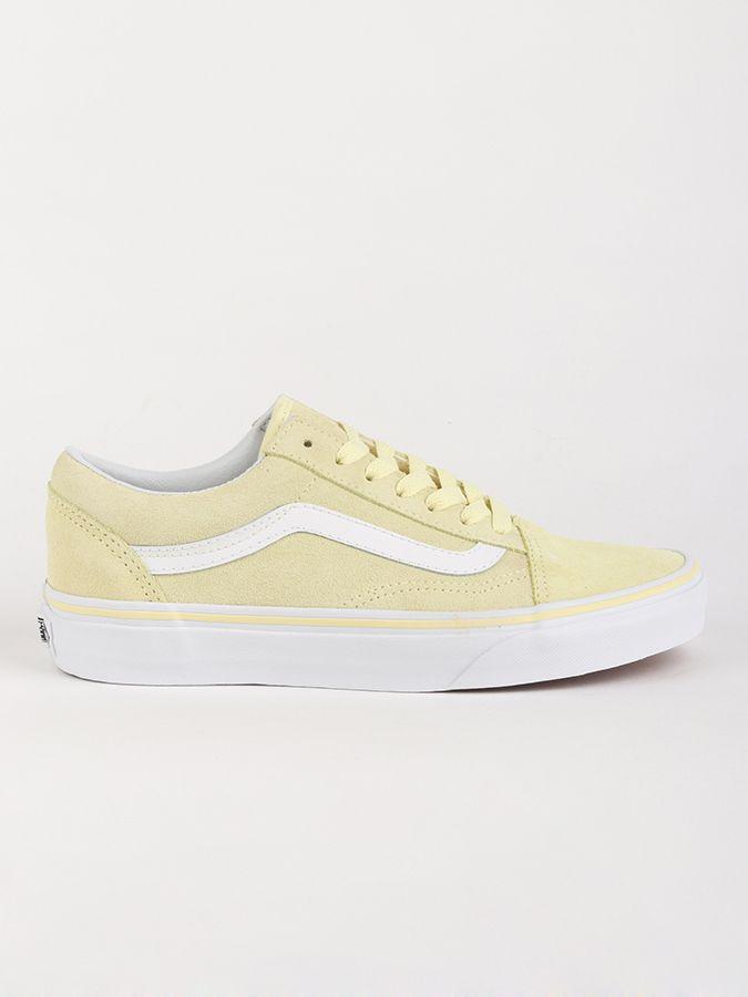 Topánky Vans Ua Old Skool (Suede) Tend Žltá značky Vans - Lovely.sk 8748bfc0bc