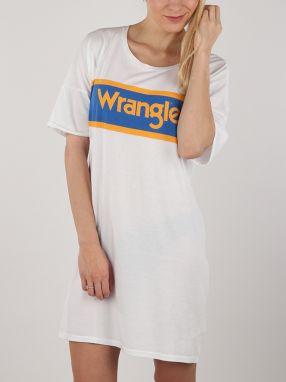 74f1c4036553 Šaty Wrangler B Y Tee DreSS White Biela