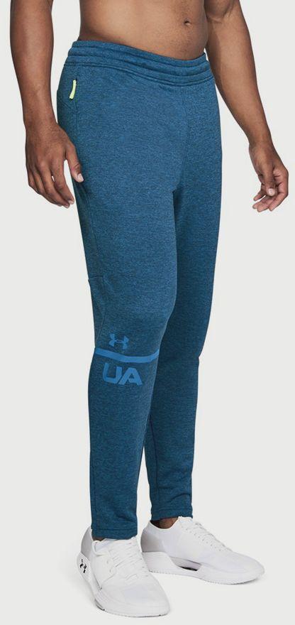 Tepláky Under Armour Tech Terry Tapered Pant Modrá značky UNDER ... a50bf128d5d