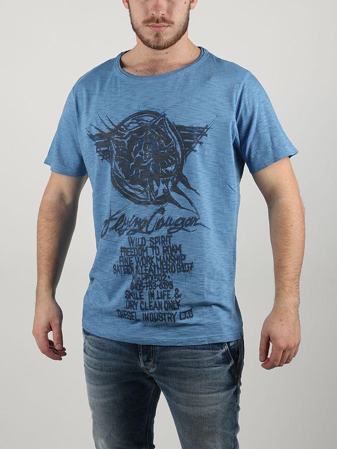 Tričko Diesel T-Joe-Dc-G Maglietta Modrá značky Diesel - Lovely.sk 21b6035711