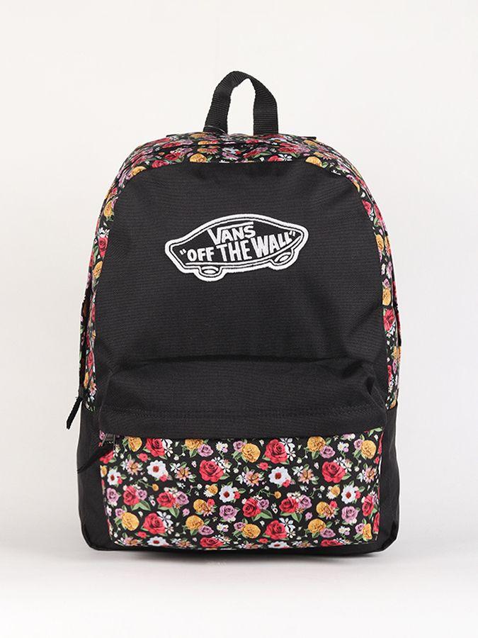 Ruksak Vans WM Realm Backpack Mixed Floral Čierna značky Vans - Lovely.sk bf3999032e