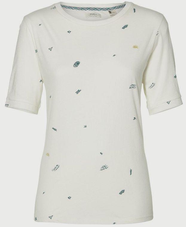 Tričko O´Neill LW Mini Print T-Shirt Biela značky O Neill - Lovely.sk f2ab648589