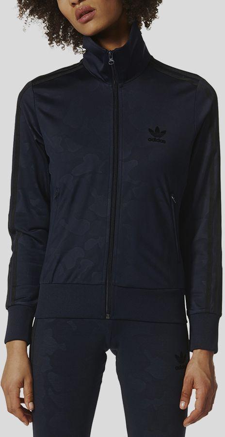 Mikina adidas Originals FIREBIRD TT Čierna značky adidas Originals ... e546eda2a12