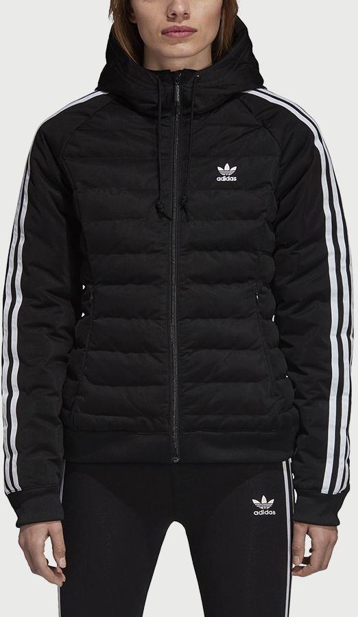 Bunda adidas Originals Slim Jacket Čierna značky adidas Originals -  Lovely.sk 8664189bb66