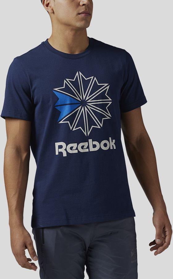 Tričko Reebok Classic F GR TEE Modrá značky Reebok classic - Lovely.sk 19452de62a8