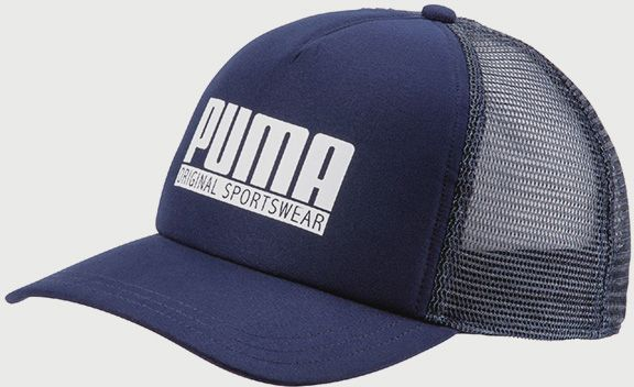 751626217 Šiltovka Puma Style trucker cap Modrá značky Puma - Lovely.sk