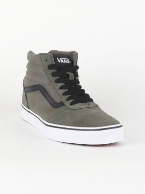Topánky Vans MN Ward HI (Suede Canvas) Šedá značky Vans - Lovely.sk 513ef4ccc6