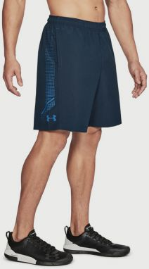 Kraťasy Under Armour Woven Graphic Short Modrá