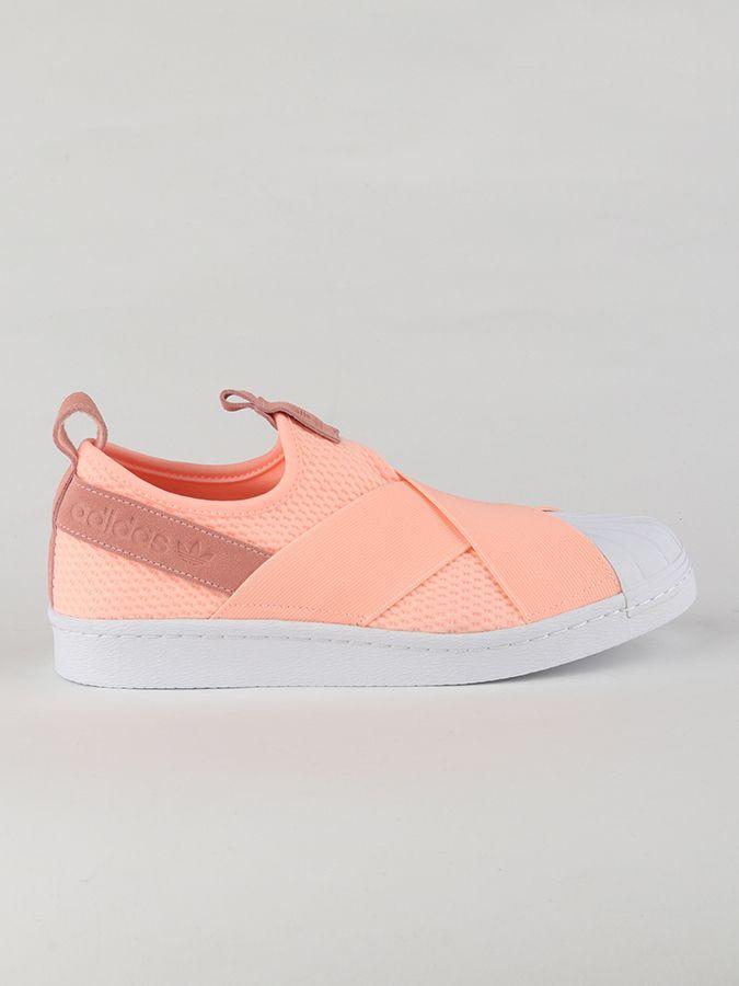 1cf758fe4d5b Topánky adidas Originals Superstar Slip On W Růžová značky adidas Originals  - Lovely.sk