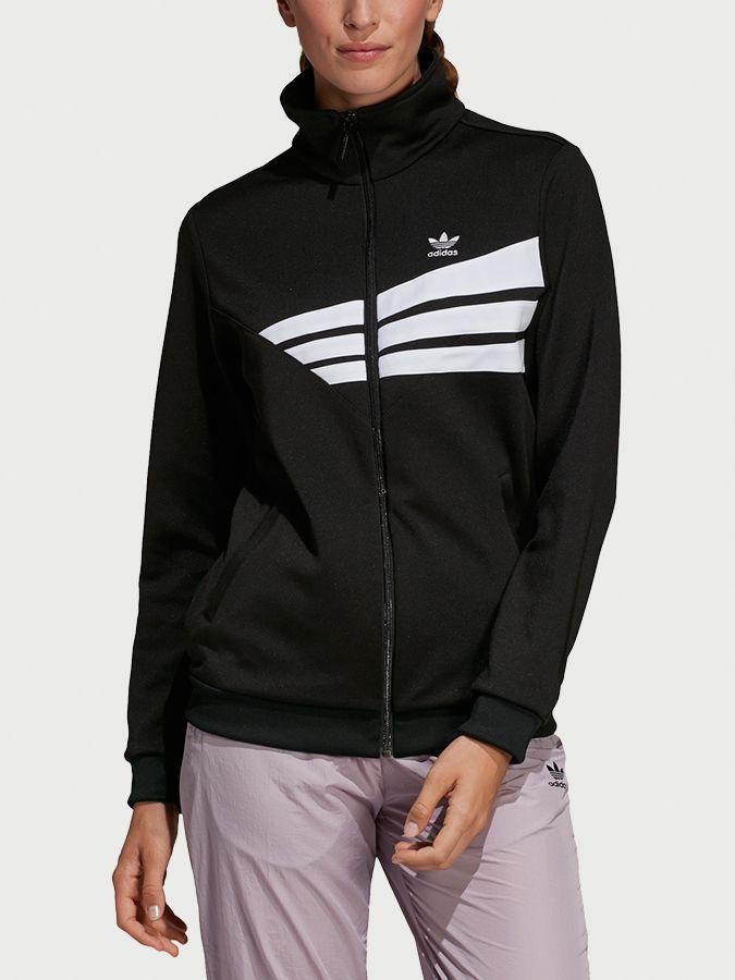 5402e40ef Mikina adidas Originals Track Top Čierna značky adidas Originals ...