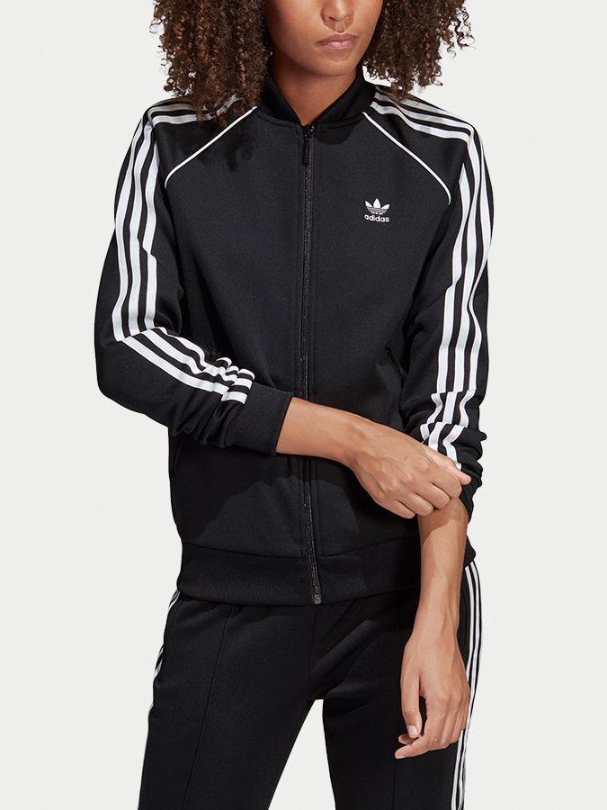 322369954 Mikina adidas Originals Sst Tt Čierna značky adidas Originals - Lovely.sk