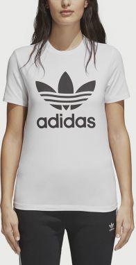 283601db083b Biele dámske dlhé priesvitné tričko adidas Originals značky adidas ...