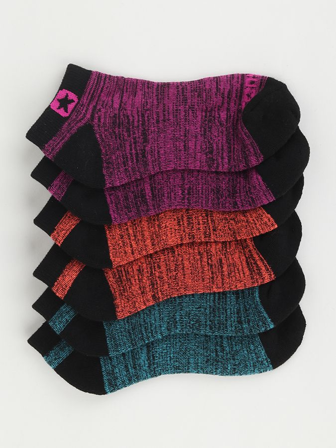 Ponožky Converse Skarpety Women 3-pack Farebná značky Converse ... 52629f7d5c