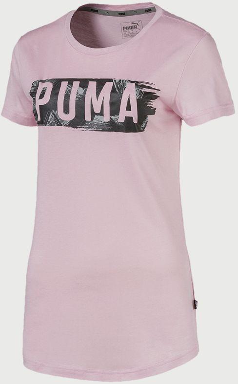 4d374bed6b62 Tričko Puma FUSION Graphic Tee Růžová značky Puma - Lovely.sk