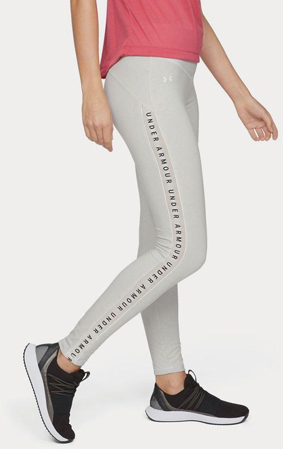 Legíny Under Armour Taped Favorite Legging Šedá značky UNDER ARMOUR ... d66f42ba884