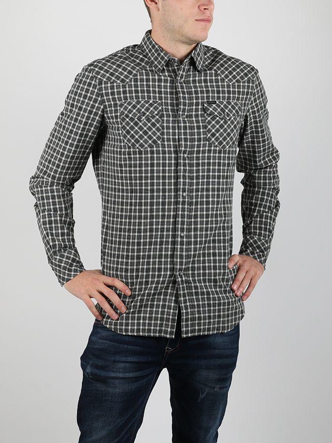 171a18a24260 Košeľa Diesel S-Zule Camicia Čierna značky Diesel - Lovely.sk