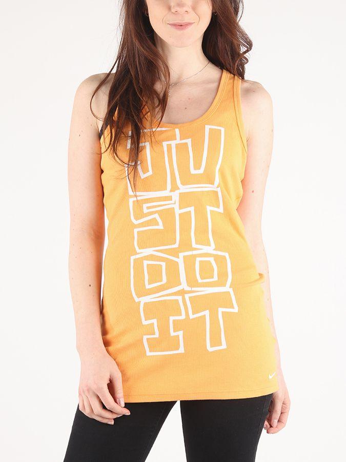 cfa04287c Tielko Nike GRAPHIC DRIFIT TANK Oranžová značky Nike - Lovely.sk