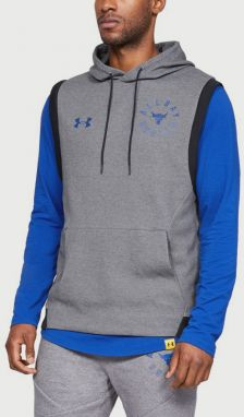 Mikina Under Armour Project Rock 2X Sl Hood Šedá