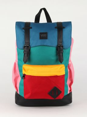 Ruksak Vans Wm Crosstown Backpac Strawberry Pk/Black Farebná